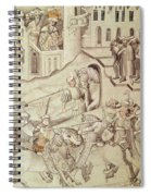 Knights Jousting Spiral Notebook
