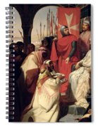 Knights Of The Order Of St John Of Jerusalem Restoring Religion In Armenia Spiral Notebook