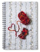 Knitted With Love Spiral Notebook