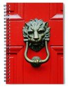 Knock Knock Spiral Notebook