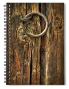 Knock On Wood Spiral Notebook