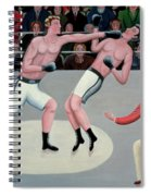Knock Out Spiral Notebook