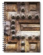Knock Three Times Spiral Notebook