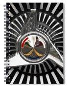 Knockoff Wheel Spiral Notebook