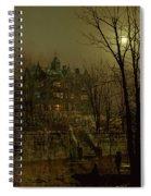 Knostrop Old Hall, Leeds, 1883 Spiral Notebook