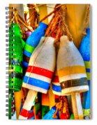 Knotty Buoys Spiral Notebook