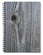Knotty Plank #3a Spiral Notebook