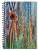 Knotty Plank #3b Spiral Notebook