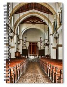 Knowles Memorial Chapel Rollins College 2 By Diana Sainz Spiral Notebook