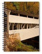 Knox Bridge In Autumn Spiral Notebook