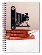 Kodak Art Deco 620 Camera Spiral Notebook