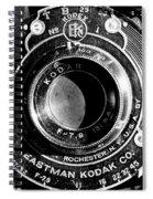 Kodak Brownie 2 Spiral Notebook