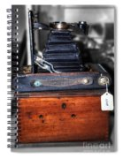 Kodak Folding Autographic Brownie 2-a Spiral Notebook