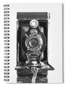 Kodak No. 2 Folding Autographic Brownie Camera Spiral Notebook
