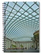 Kogod Courtyard  Spiral Notebook