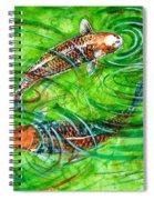Koi Carps Spiral Notebook