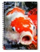 Koi Kisses Spiral Notebook