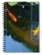 Koi - Oil Painting Effect Spiral Notebook