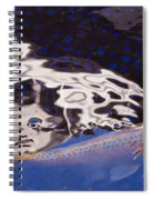 Koi Pond Abstract Spiral Notebook