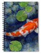 Koi Pond Spiral Notebook