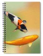 Koi With Azalea Ripples Dreamscape Spiral Notebook