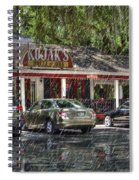 Kojak's House Of Ribs Spiral Notebook