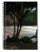 Koki Beach Hana Maui Hawaii Spiral Notebook