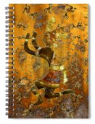 Kokopelli Spiral Notebook