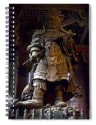 Komokuten Guardian King - Nara Japan Spiral Notebook
