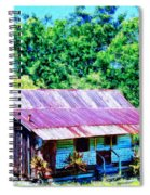 Kona Coffee Shack Spiral Notebook