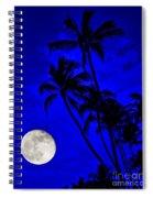 Kona Moon Rising Spiral Notebook