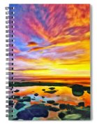 Kona Tidepool Reflections Spiral Notebook