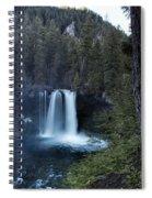 Koosah Falls No. 1 Spiral Notebook