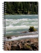 Kootenai Falls Montana Spiral Notebook