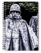 Korean War Veterans Memorial Washington Spiral Notebook
