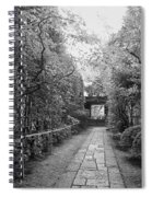 Koto-in Temple Stone Path Spiral Notebook