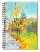 Krakow - Autumn Spiral Notebook