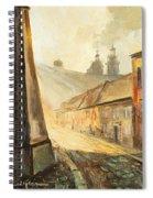 Krakow- Kanonicza Street Spiral Notebook