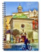 Krakow Main Square Old Town  Spiral Notebook