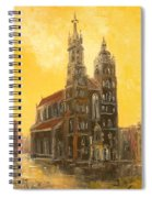 Krakow - Mariacki Church Spiral Notebook