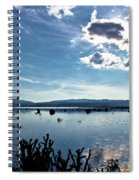 Krbava Field Of Lika Blue Lake Spiral Notebook