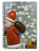 Kris Kringle Spiral Notebook
