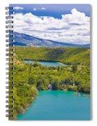 Krka River National Park Canyon Spiral Notebook