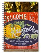 Kruger's Farm Spiral Notebook