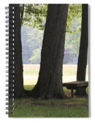 Ksu Ashtabula Campus Park Spiral Notebook