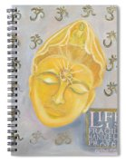 Kuan Yin With Quote Spiral Notebook