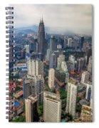 Kuala Lumpur City Spiral Notebook