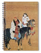 Kublai Khan Hunting Spiral Notebook