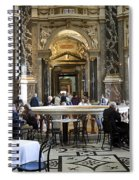 At The Kunsthistorische Museum Cafe II Spiral Notebook