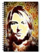 Kurt Cobain Digital Painting Spiral Notebook